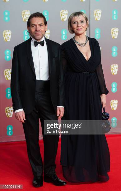 Anthony Welsh attends the EE British Academy Film Awards 2020 at Royal Albert Hall on February 02 2020 in London England