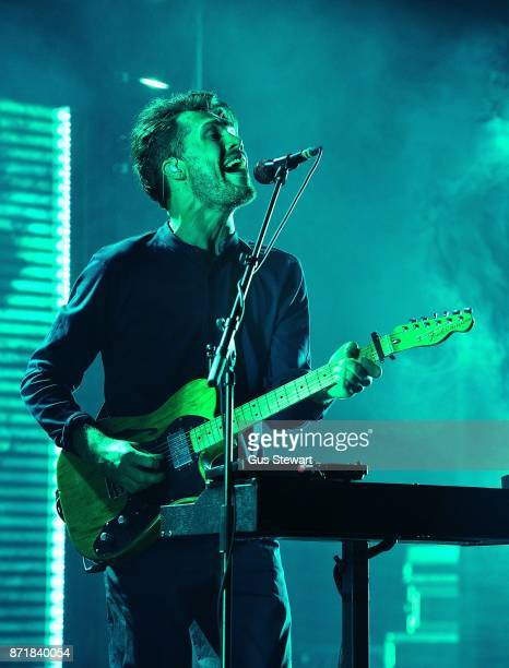 Anthony West of Oh Wonder performs live on stage at O2 Academy Brixton on November 8 2017 in London England