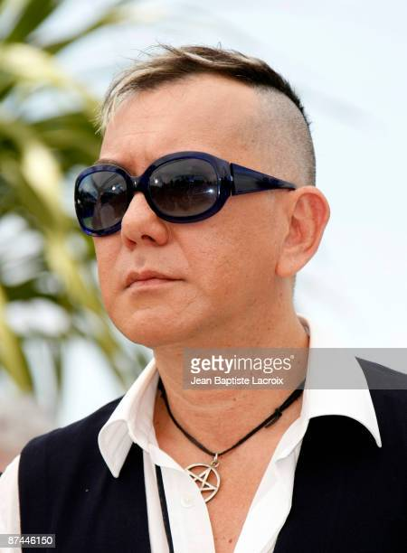 Anthony Wong attends the Vengeance Photo Call at the Palais des Festivals during the 62nd Annual Cannes Film Festival on May 17 2009 in Cannes France