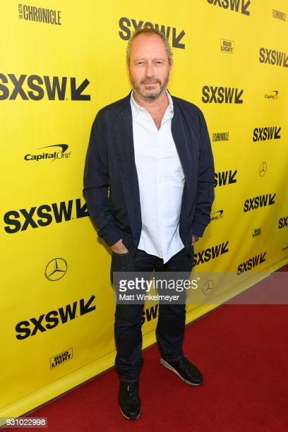 Anthony Wonke attends the 'The Director and The Jedi' Premiere 2018 SXSW Conference and Festivals at Paramount Theatre on March 12 2018 in Austin...