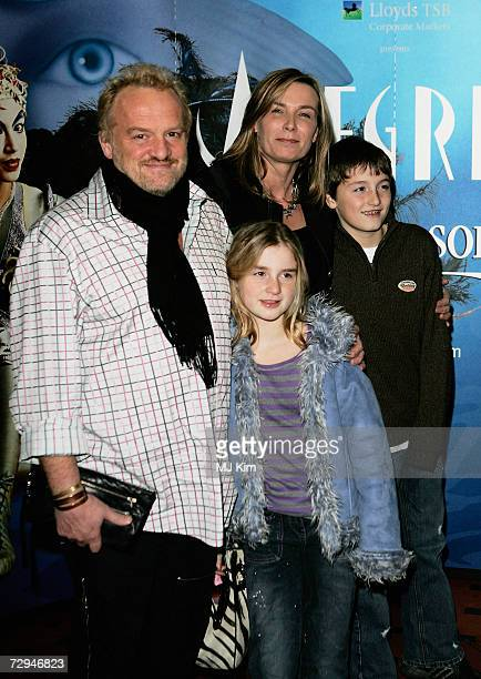 Anthony Worrall Thompson and his family arrive at the premiere for the new Cirque Du Soleil production Alegria at the Royal Albert Hall on January 5...