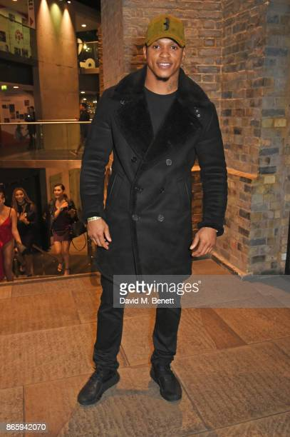 Anthony Yarde attends The KA GRM Daily Rated Awards at The Roundhouse on October 24 2017 in London England