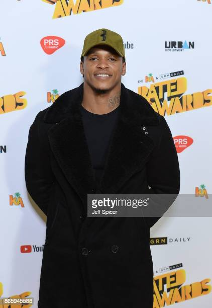 Anthony Yarde attends The Rated Awards at The Roundhouse on October 24 2017 in London England