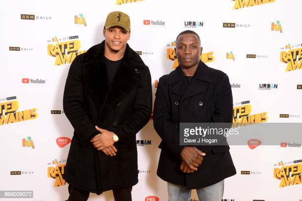 Anthony Yarde attends UK Grime and Hip Hop the KA GRM Daily RATED AWARDS at legendary music venue The Roundhouse on October 24 2017 in London England