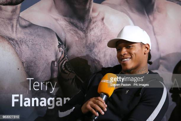 Anthony Yarde during a press conference at the BT Tower London PRESS ASSOCIATION Photo Picture date Tuesday May 1 2018 See PA story BOXING London...