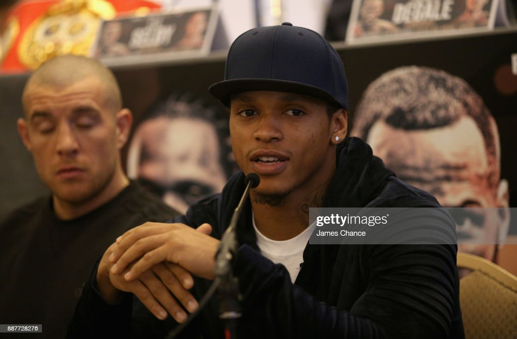 Anthony Yarde speaks to the media during a Boxing Press Conference at The Landmark London on December 7, 2017 in London, England.