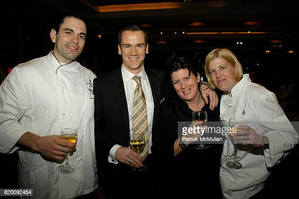 Anthony Zamora Michael Bonsor Lynn Crawford and guest attend 10th Annual CCap Benefit Honoring Chef Alfred Portale at Pier Sixty at Chelsea Piers on...