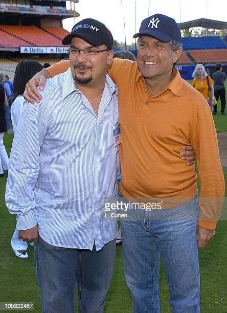 Anthony Zuiker cocreator and executive producer of CSI NY and Leslie Moonves copresident and coCOO of Viacom