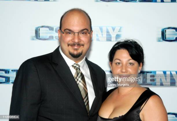 Anthony Zuiker cocreator/executive producer and wife Jennifer
