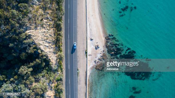 anthony's nose, dromana aerial - victoria australia stock pictures, royalty-free photos & images
