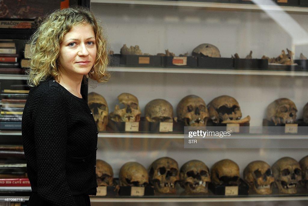 CROATIA-SCIENCE-ANTHROPOLOGY-PALAEONTOLOGY- NEANDERTHAL : News Photo