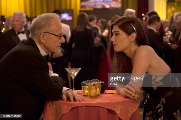 NEW AMSTERDAM 'Anthropocene' Episode 106 Pictured Ron Rifkin as Dean Peter Fulton Janet Montgomery as Dr Lauren Bloom