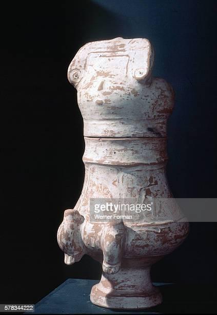 Anthropomorphic funerary urn Country of Origin Brazil Culture Marajo Date/Period Marajoana period c 600 1200 AD Place of Origin Marajo island in the...