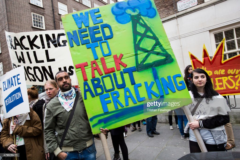 Vivienne Westwood Leads March to The Fracked Future Carnival : News Photo