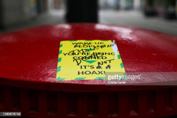 anti lockdown and quarantine sticker - anti quarantine protest stock pictures, royalty-free photos & images