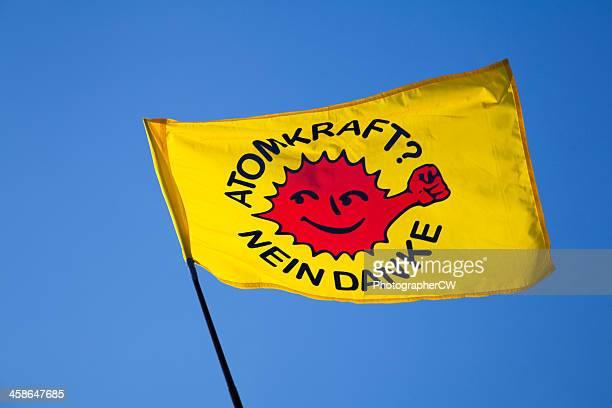 Anti-nuclear power Flagge