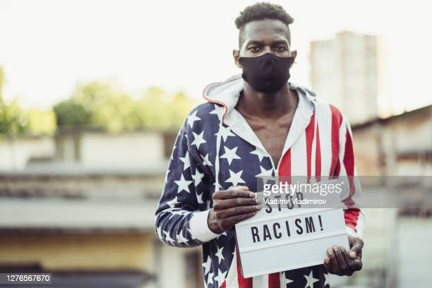 anti racism concept - anti quarantine protest stock pictures, royalty-free photos & images