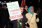 auckland new zealand anti racist protestors