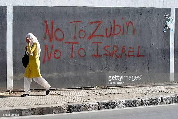 CONTENT] Anti Zubin Mehta graffiti appears in old SrinagarKashmir