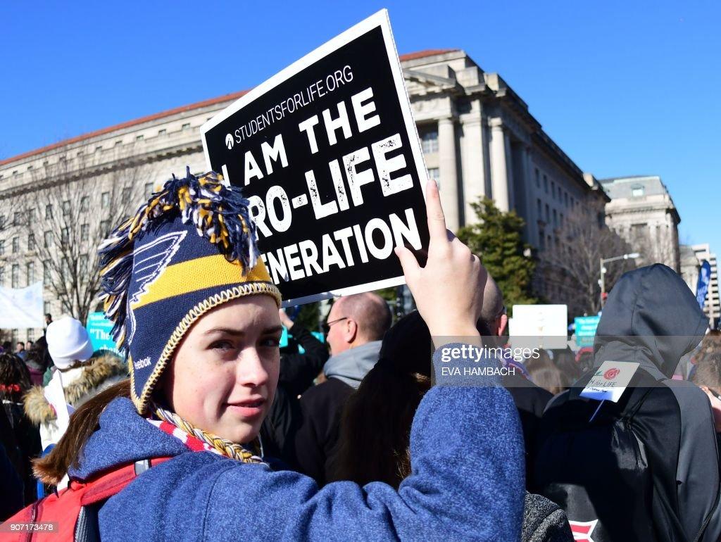 US-POLITICS-ABORTION-DEMONSTRATIONS : News Photo