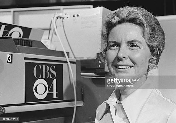 Antiabortionist Phyllis Schlafly makes a guest appearance on the CBS television program SPECTRUM on June 4 1973