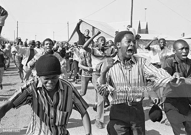 Anti-Apartheid Demonstrations in Soweto
