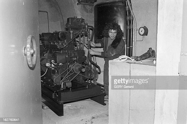 AntiAtomic Shelter Boulevard Lefebvre In Paris Paris le 10 mai 1980 Des jeunes cataphiles font la fête dans les abris antiatomiques désaffectés...