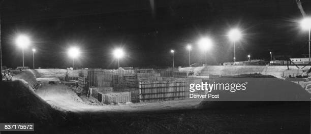 Antiballistic Missile Control Center is a Lonely Spot at Night Work was Halted After President Nixon Signed Arms Limitation Pact with Soviet Union...