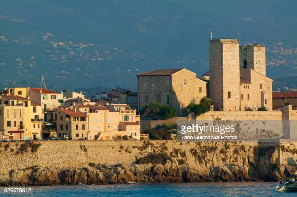 antibes, alpes maritimes, french riviera, france - antibes stock photos and pictures