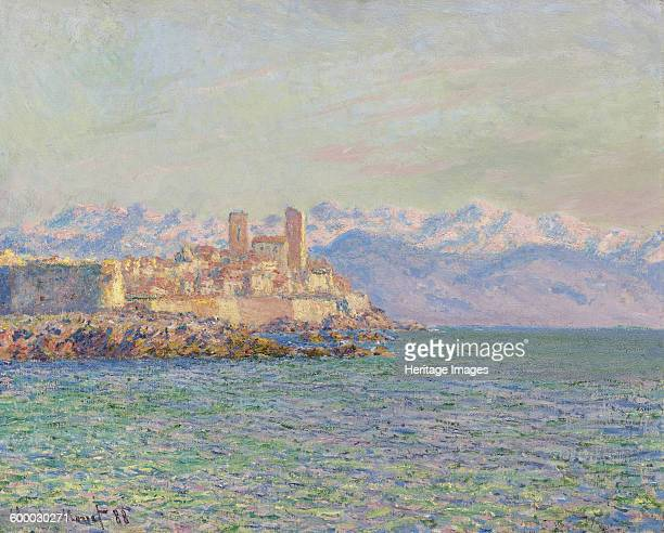 Antibes Le Fort 1888 Private Collection Artist Monet Claude