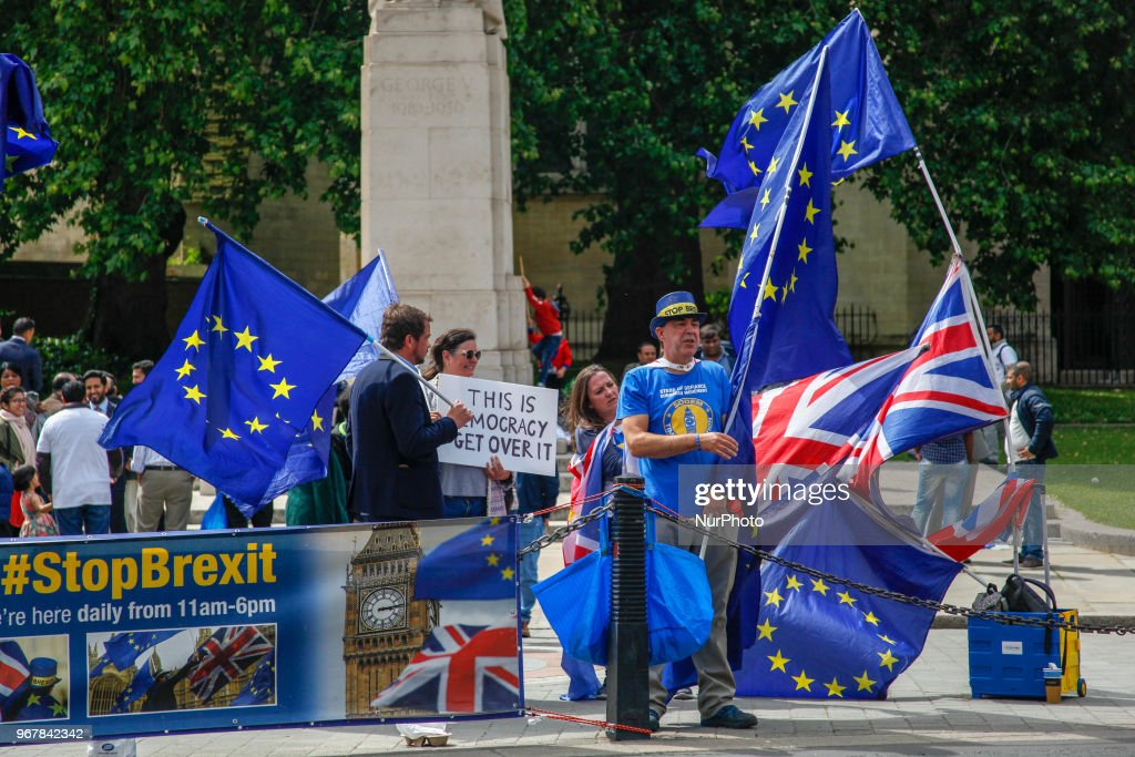 Brexit Now March In London : News Photo