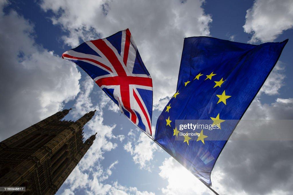 U.K. PM Johnson's Brexit Plan in Tatters : News Photo