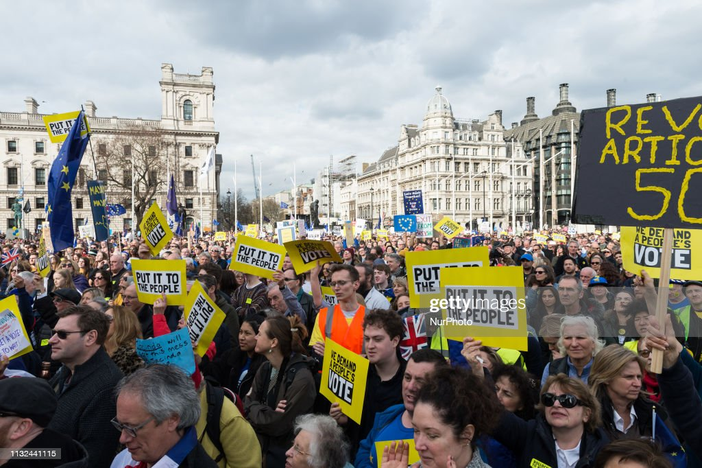'Put It To The People' March In London : News Photo