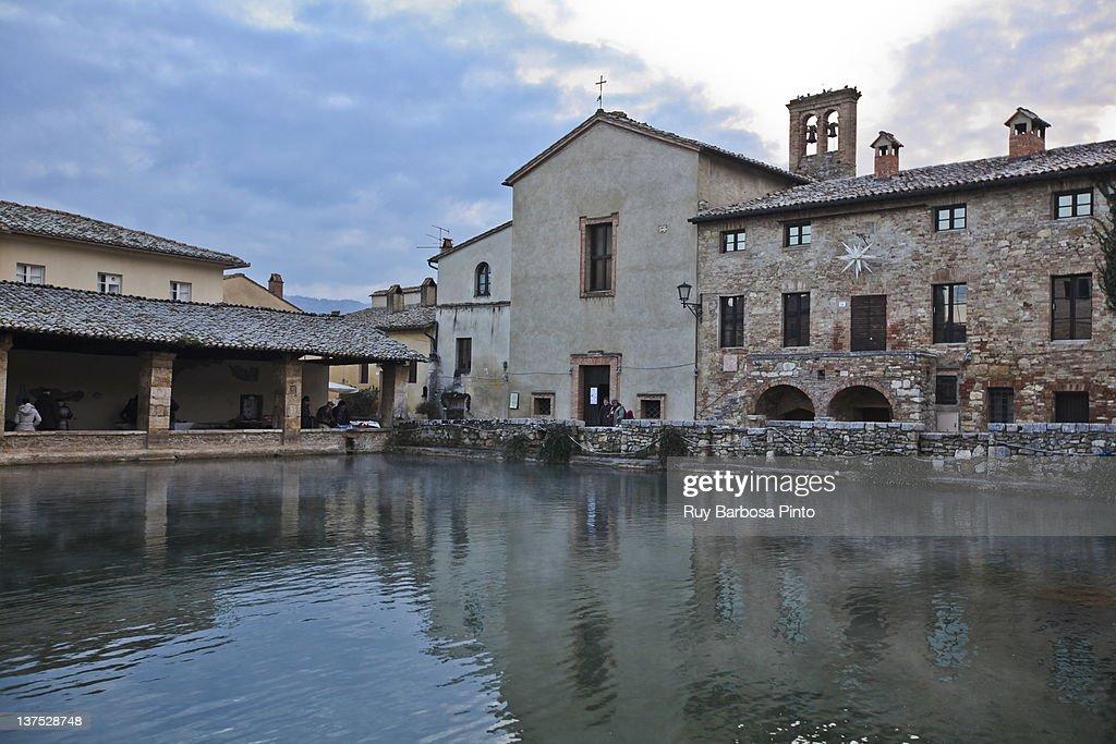 Antiche Terme Di Bagno Vignoni Stock Photo | Getty Images
