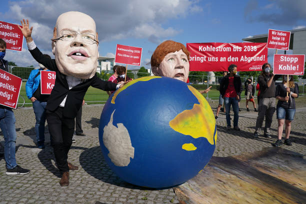 DEU: Protests In Berlin: Sex Workers, Coal Opponents, Pig Rights