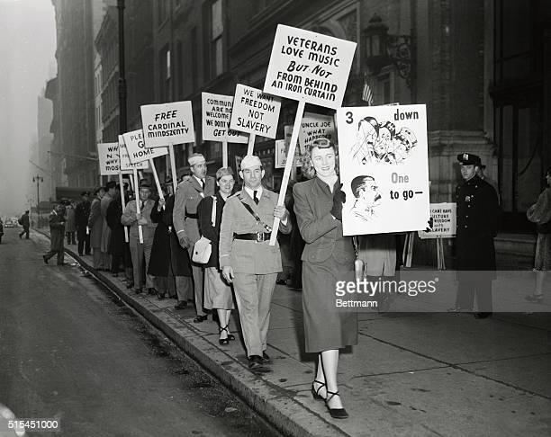 AntiCommunist Picket in New York