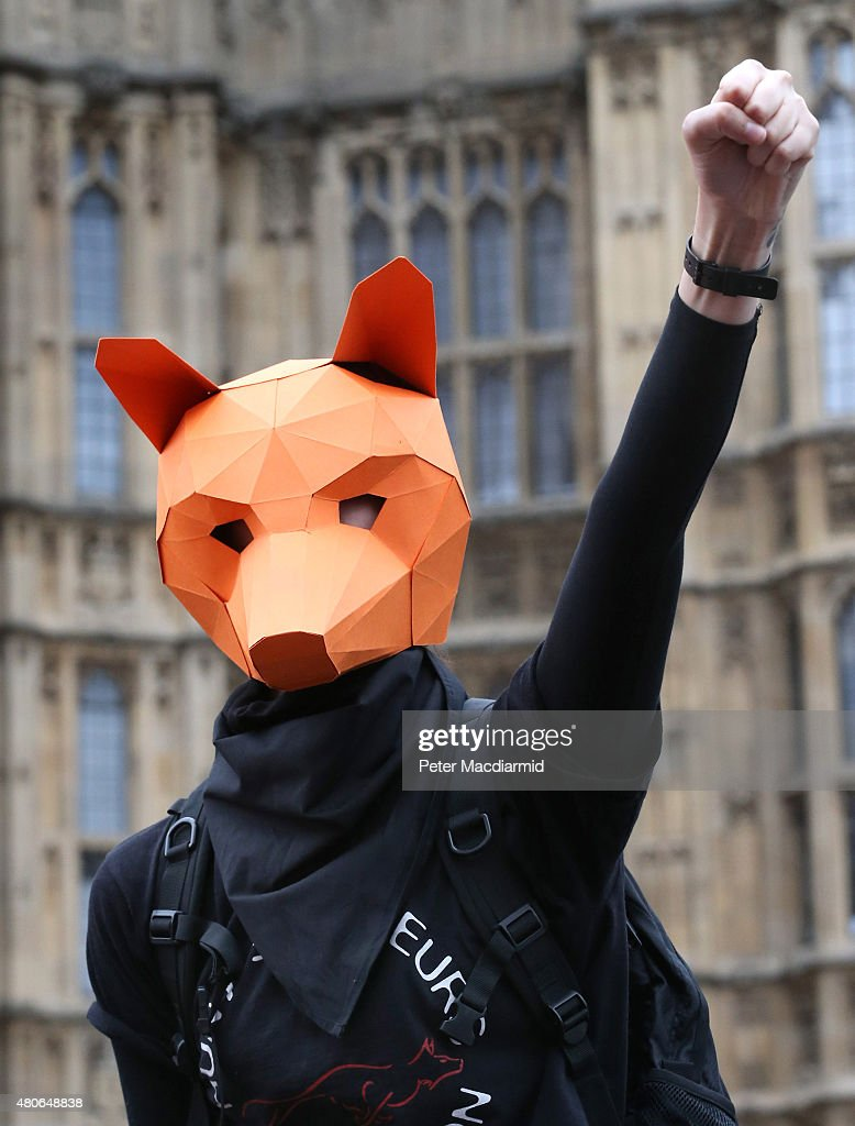 Brian May Protests Ahead Of The Fox Hunting Vote : Photo d'actualité