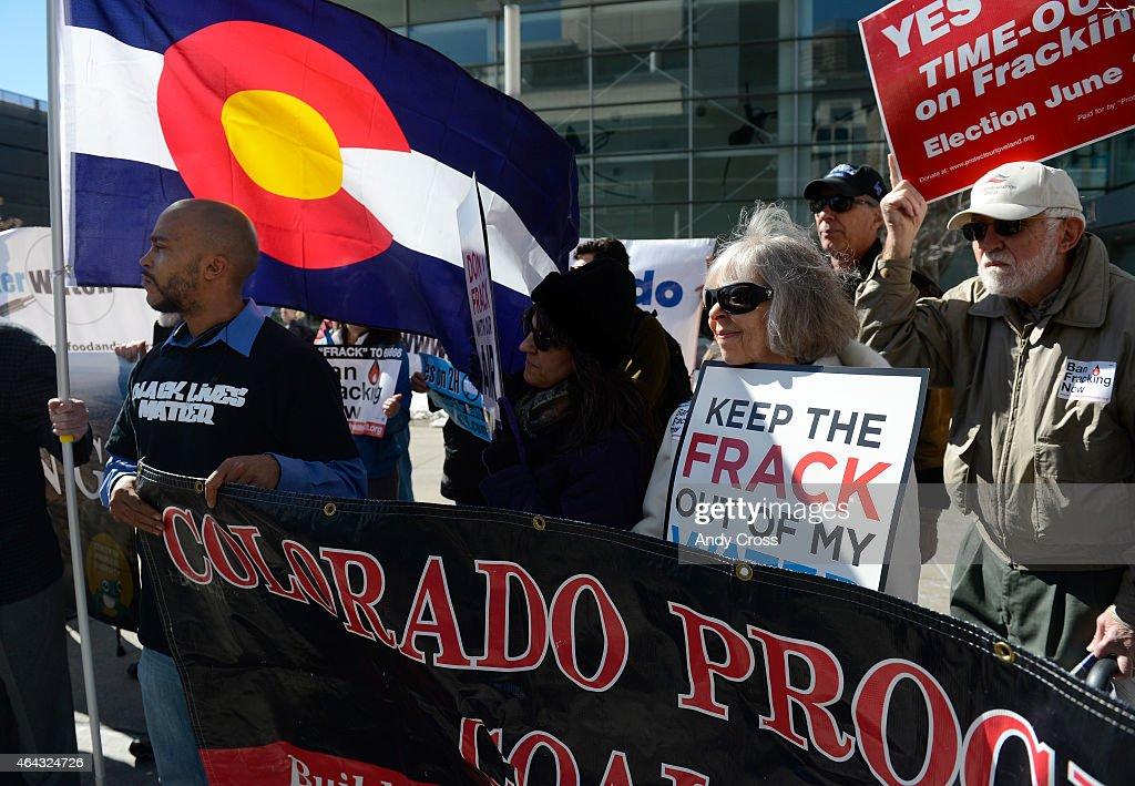 Fracking Ban Protest : News Photo