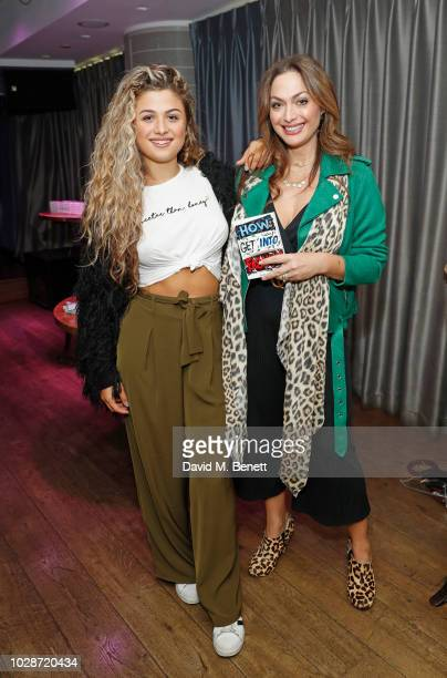 Antigoni Buxton and Tonia Buxton attend an exclusive private book signing with supermodel MBE Eunice Olumide for her new book How To Get Into Fashion...