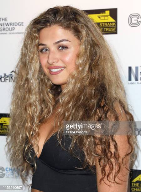 Antigoni Buxton attending the Paul Strank Summer Charity Party at Opium in London