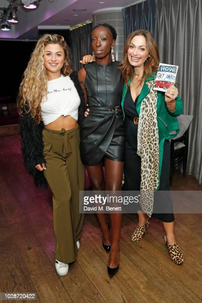 Antigoni Buxton Eunice Olumide and Tonia Buxton attend an exclusive private book signing with supermodel MBE Eunice Olumide for her new book How To...