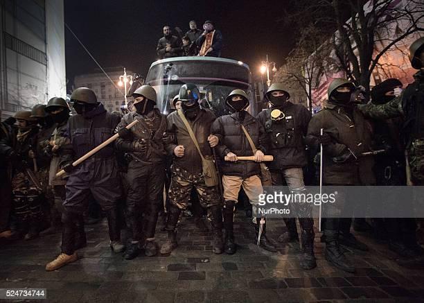 antigovernment protest in Kiev Ukraine