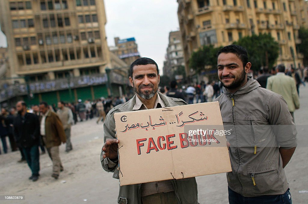 "Anti-Mubarak Protesters Gather In Tahrir Square For ""Day Of Departure"" Demonstration : Nachrichtenfoto"