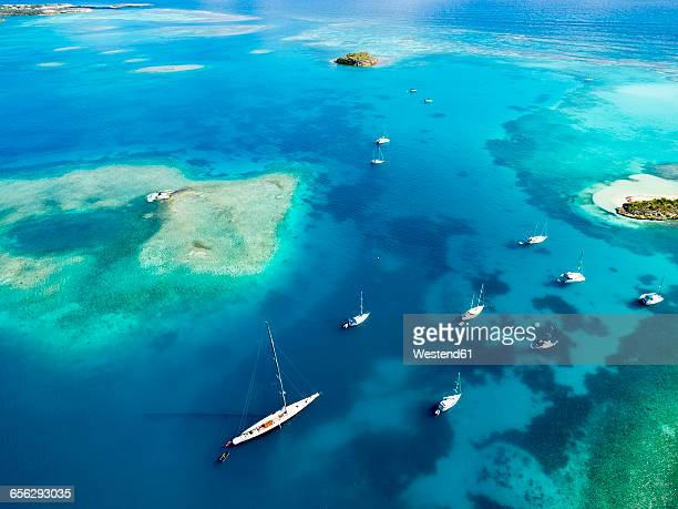 Antigua and Barbuda, West Indies, Antigua, Green Island, Green Bay, maxi yacht
