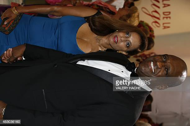 Antigua and Barbuda's diplomat John Ashe and his wife arrive to attend the 66th annual Red Cross Gala on August 1 in Monaco Created in 1948 the gala...