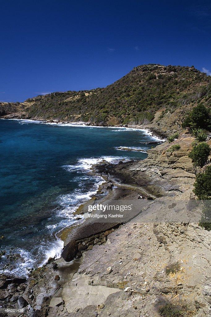 Antigua, Coastline.
