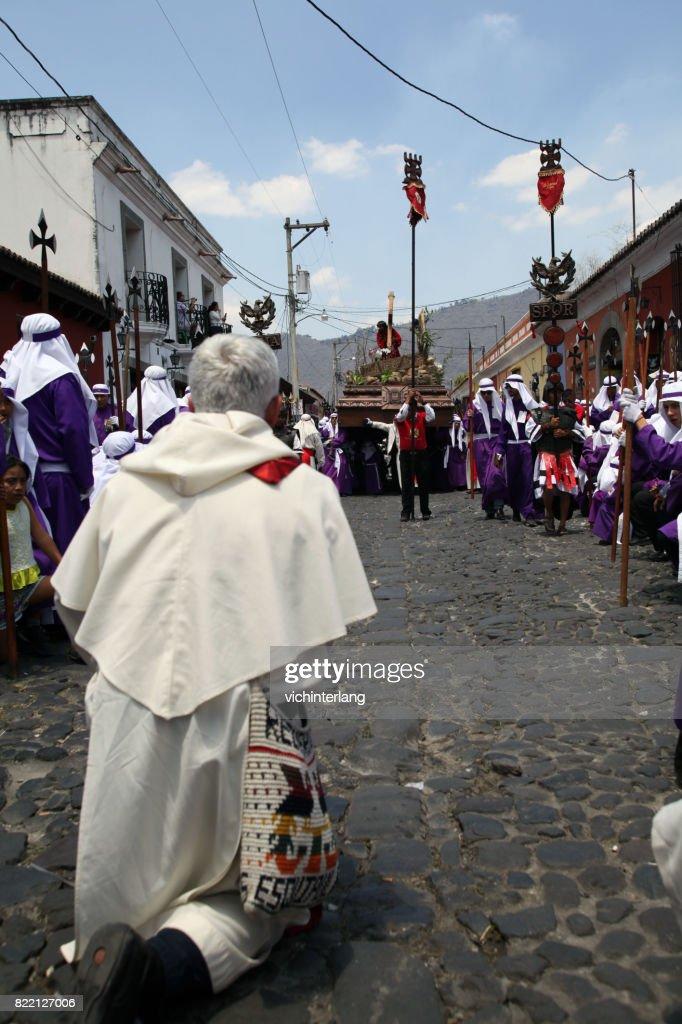 Antigua, Guatemala Holy Week : Stock Photo