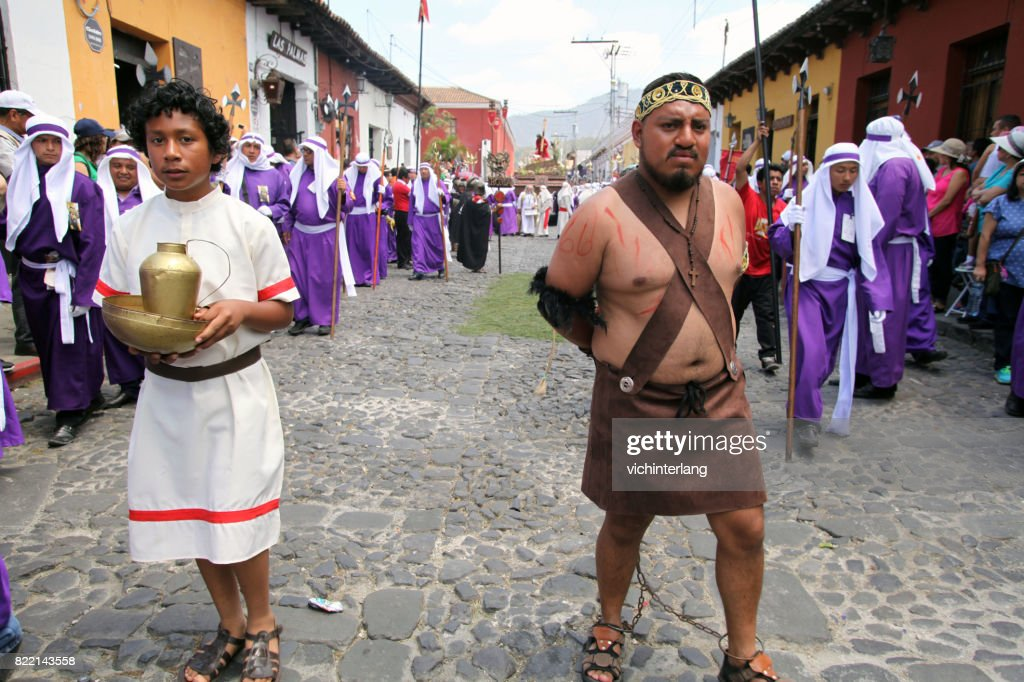 Antigua, Guatemala Holy Week : Stock Photo