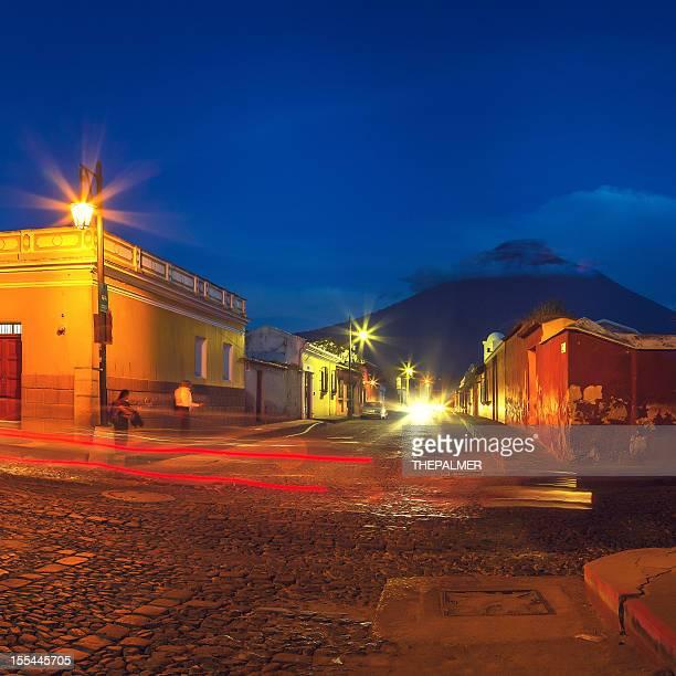 Antigua Guatemala crepúsculo