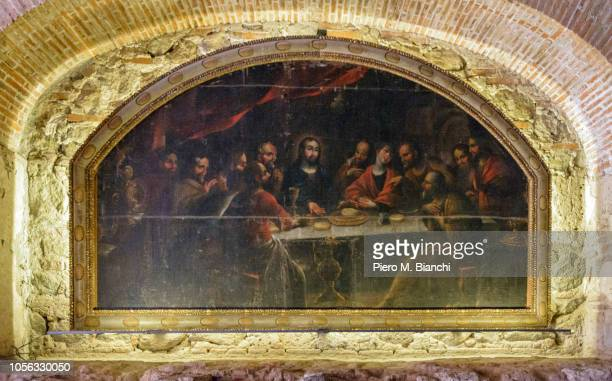 antigua - last supper stock pictures, royalty-free photos & images